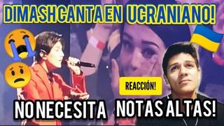 Video Reaction Dimash sings in Ukrainian and his mom criesVideo Reaccin Dimash canta en Ucraniano