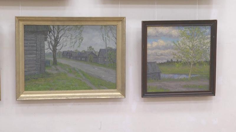 Выставка Владимира Телегина