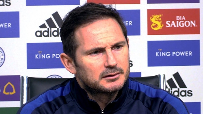 Leicester 2 2 Chelsea Frank Lampard FULL Post Match Press Conference Premier League