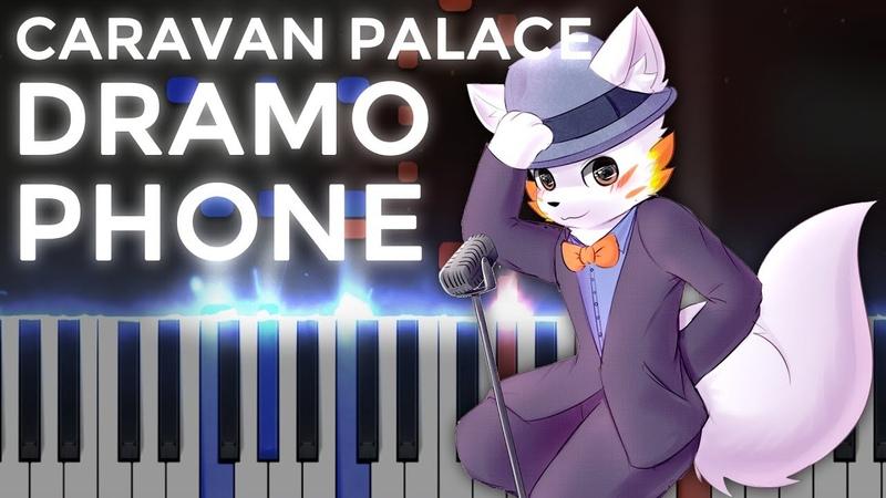 Caravan Palace · Dramophone Ragtime LyricWulf Piano Tutorial on Synthesia