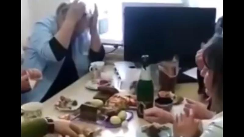 В одной из больниц Кабардино Балкарии педиатры пили шампанское пока больные дети ждали приема