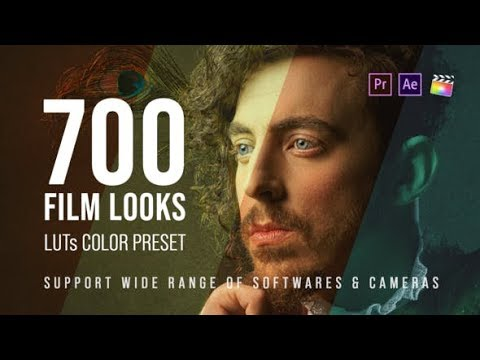 700 Film Looks LUT Color Preset Pack videohive