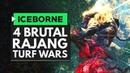 Monster Hunter World Iceborne | 4 BRUTAL RAJANG TURF WARS