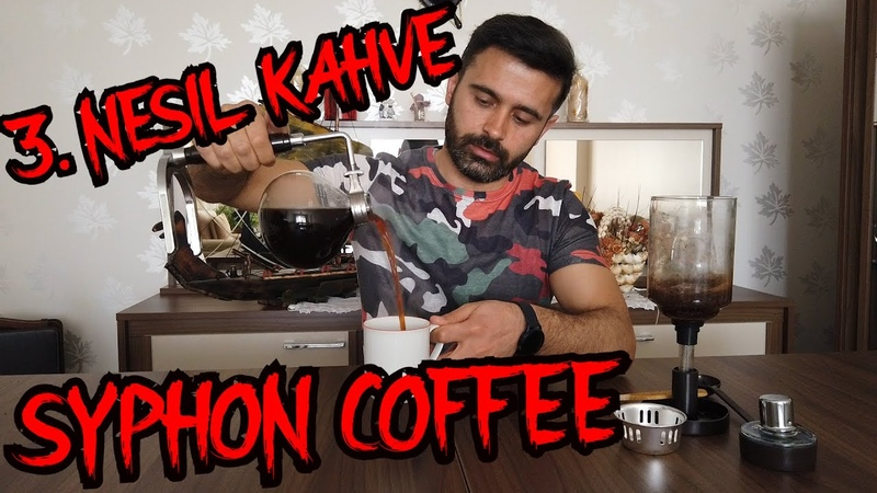 Bi Kahve İçelim mi 3 Nesil Filtre Kahve Syphon Coffee