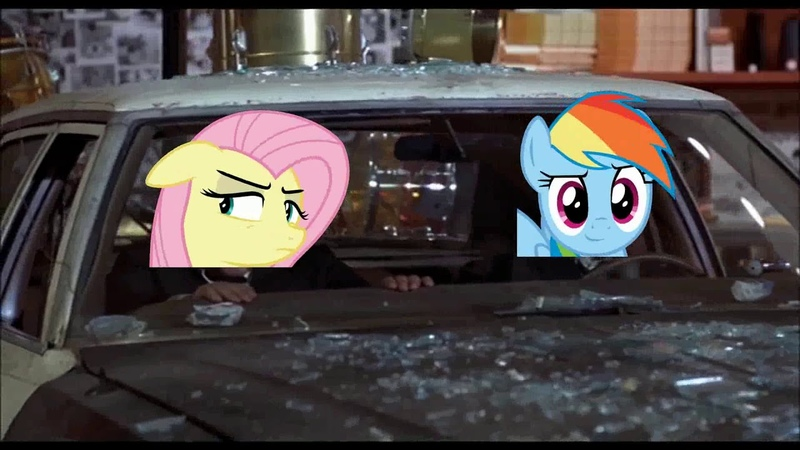 The Blues Mares Mall Chase Scene