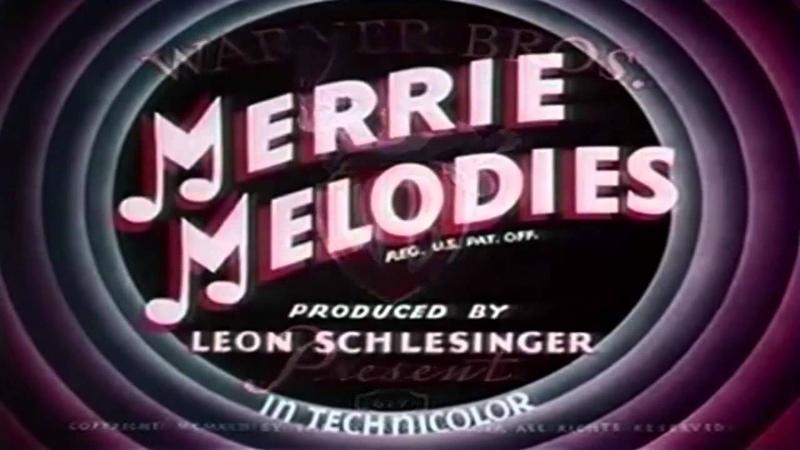 Весёлые мелодии Шоу Луни Тюнз Looney Tunes Вторая Заставка Заставки Intro Intros Opening Openings