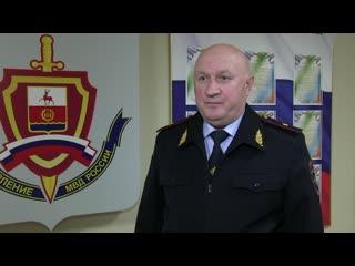 Рабочий визит начальника ГУ в Дзержинск