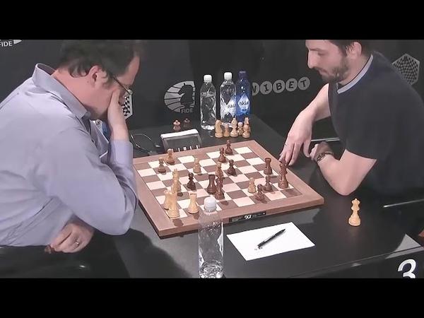 GM Ivanchuk Ukraine GM Kramnik Russia