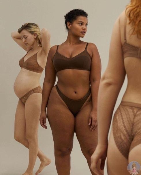 Рекламная кампания нижнего белья Oysho напоминает, как выглядят обычные женщины в ореоле естественной