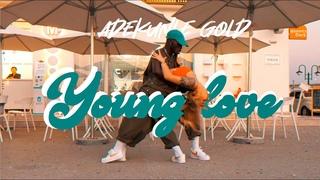 Young Love - Adekunle Gold | Dance Choreography by Yoofi Greene & Jane