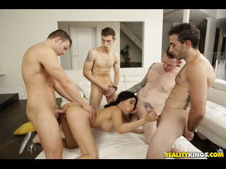 Phaze Porno - Aaliyah Hadid [GangbAng, Slut, Spitroast,  Bit Tits, BlowJob]