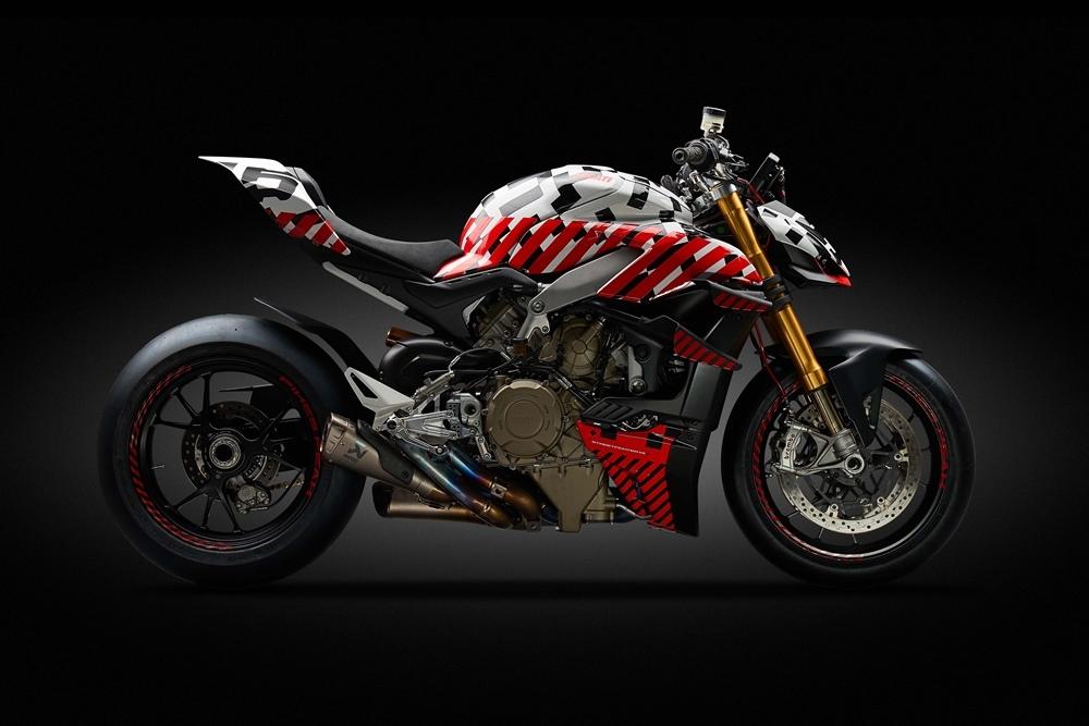 Ducati Streetfighter V4 будет производить более 200 л.с. (тизер)