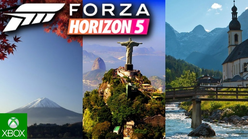 Forza Horizon 5 | Welcome to Japan, Brazil, Germany, Poland, California! (Fan-Made Trailer Comp)