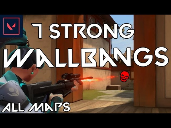 VALORANT 7 STRONG WALLBANGS THAT YOU HAVE TO LEARN All Maps