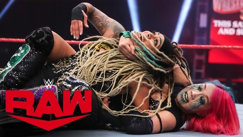 Asuka vs. Kayden Carter: Raw, March 30, 2020