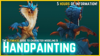 The ULTIMATE Guide for Creating Handpainted 3D Models [MODELING/SCULPTING + TEXTURE PAINTING]