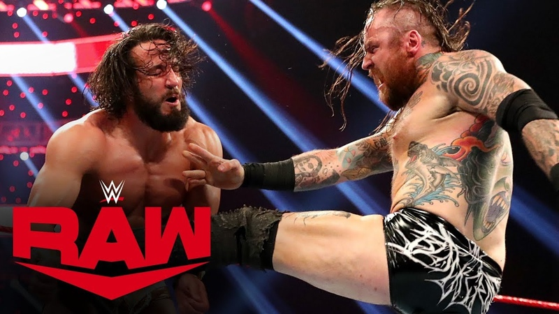 Aleister Black vs. Tony Nese Raw, Dec. 2, 2019
