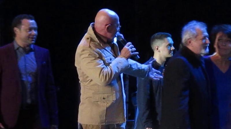 Александр Розенбаум - Слушай Ленинград , концерт в СПБ на Дворцовой площади 31.08.2019