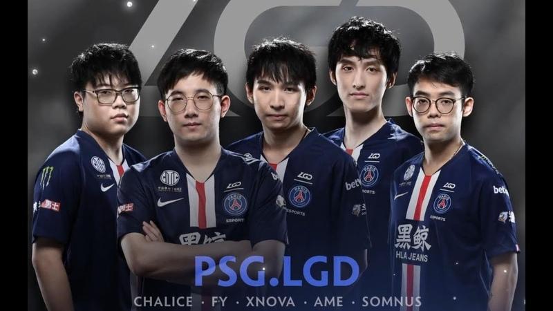 The International 2019 Team PSG.LGD Intro TI9