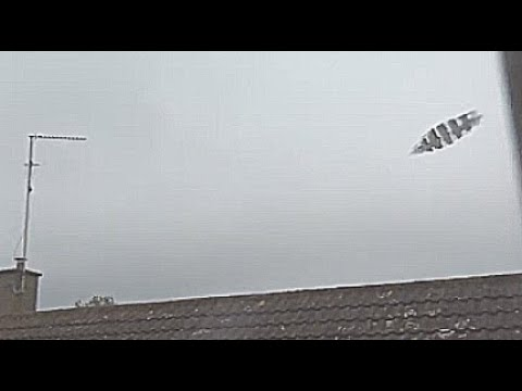 UFO Filmed Flying Low And Fast Pass The Window Of A Home In Cambridge England August 13 2020