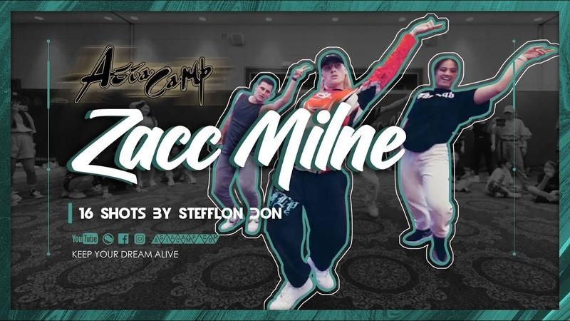 Asia Camp 2019 | ZACC MILNE | Stefflon Don - 16 Shots