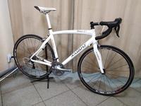 Карбоновый шоссейный велосипед.