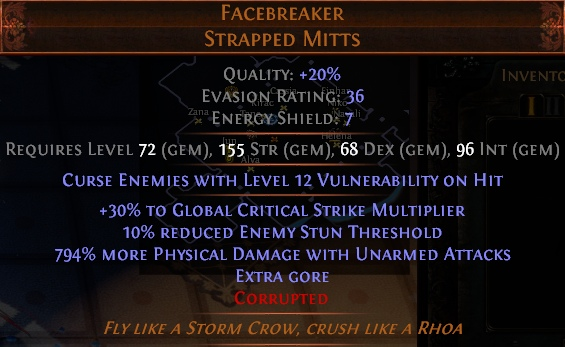 Duelist 33kk Shaper Dps Impale Facebreaker Champion Abusing New Cluster Jewels By Rayzzzor Sc Forum Path Of Exile