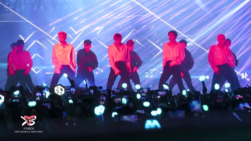 190810 EXO엑소 - Growl 으르렁 Overdose 중독 Call Me Baby - EXO PLANET5 - EXplOration in Hong Kong [직캠]