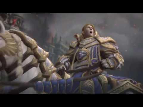 Появление Джайны в битве за Лордерон