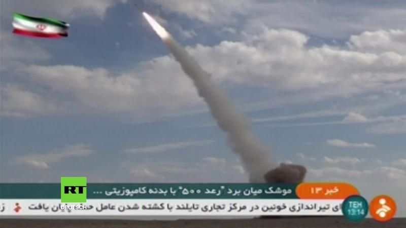 Iran enthüllt neue Rakete 200 Kilometer mehr Reichweite