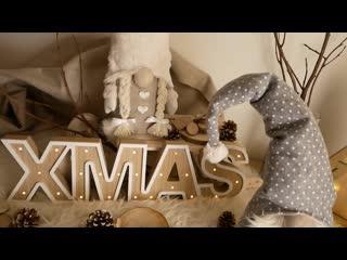 Diy christmas gnome scandinavian tutorial 🎅 tomte nisse room decor craft idea h
