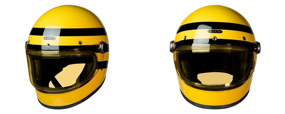 Мотошлем Hedon Heroine Racer Bumblebee