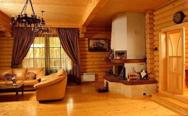 Дизайн интерьера квартиры в Русском стиле