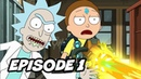 Rick and Morty Season 4 Episode 1 TOP 10 WTF and Easter Eggs