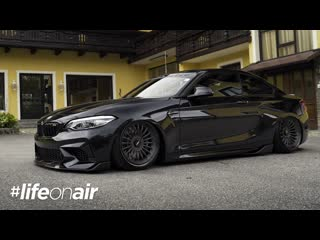 Bmw m2 competition on air suspension #lifeonair