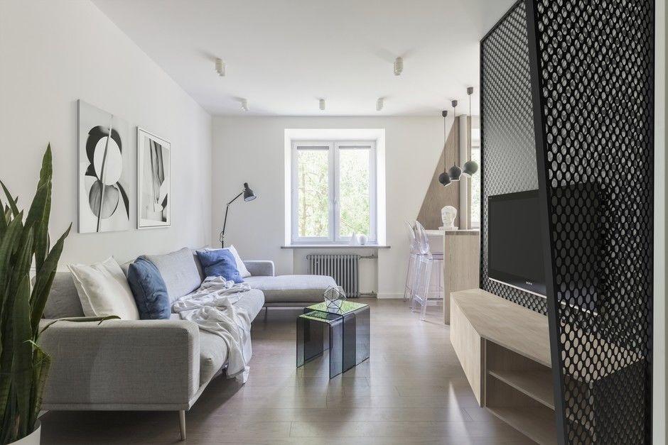 Эмоциональный минимализм: квартира 59 м² в Москве