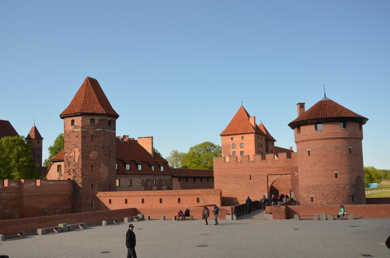 CLU69YcB1YY Мальборк - столица рыцарей в Польше.