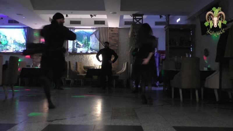 Грузинские танцы в Колхиде