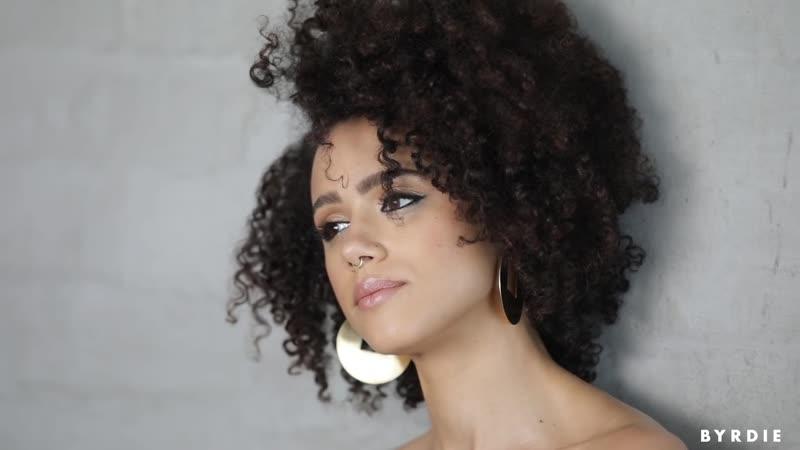 Nathalie Emmanuels Stunning On Set Makeup Transformations ¦ Byrdie