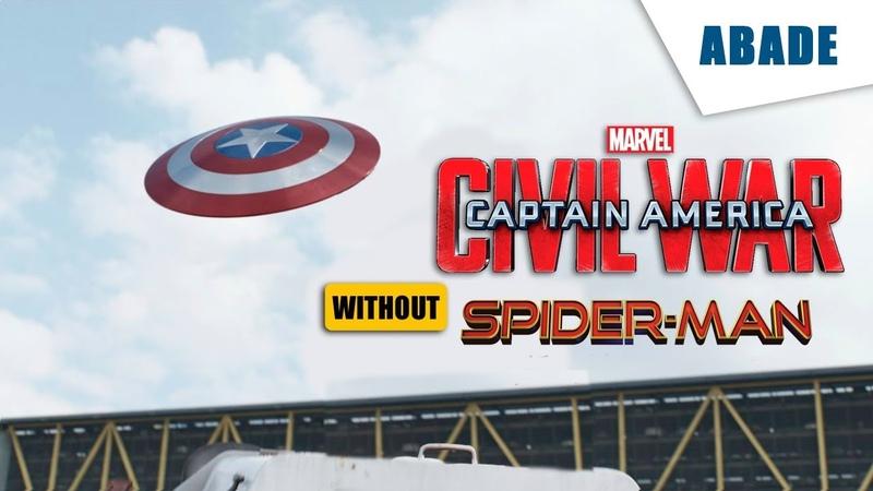 Captain America: Civil War without Spider-man Part 1