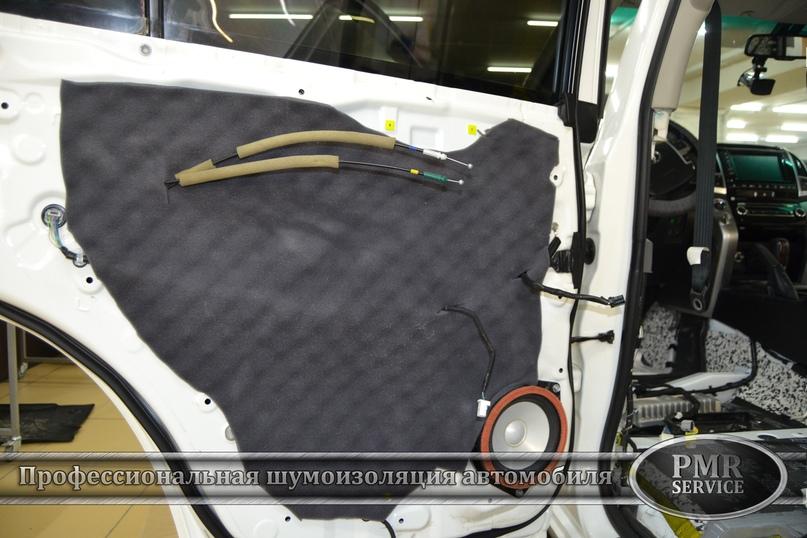 Комплексная шумоизоляция Toyota Land Cruiser 200, изображение №14