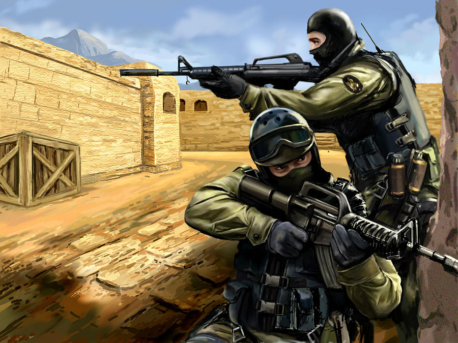 Афиша Волгоград Counter-Strike