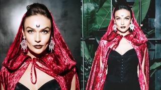 Алёна Водонаева превратилась в «невесту Дракулы»