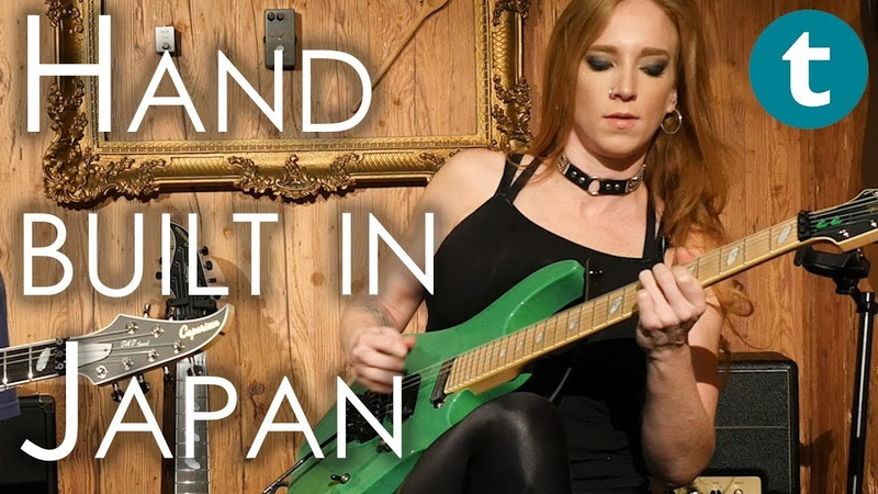 Let's play Caparison Guitars Courtney Cox The Iron Maidens