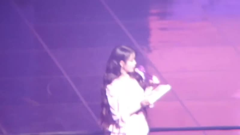 [FANCAM] 190921 @ IU at Play, Pause U Fanmeeting Part 2 - Photo Time