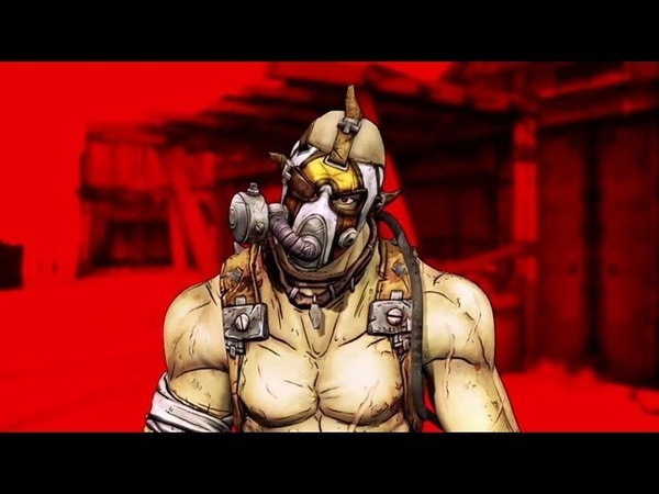 Borderlands 2 Krieg A Meat Bicycle Built for Two