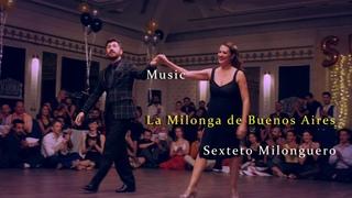 Exceptional Performance of Vanessa Gauch & Eref Tekinalp , La Milonga De BA , #SultansTangoFestival