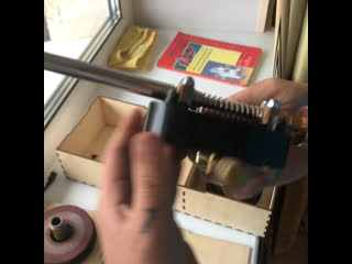 Машинка для торцевания шафта