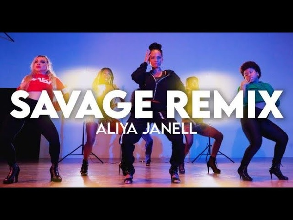 Savage Remix Meg thee Stallion feat Beyonce Aliya Janell Choreography Queens N Lettos