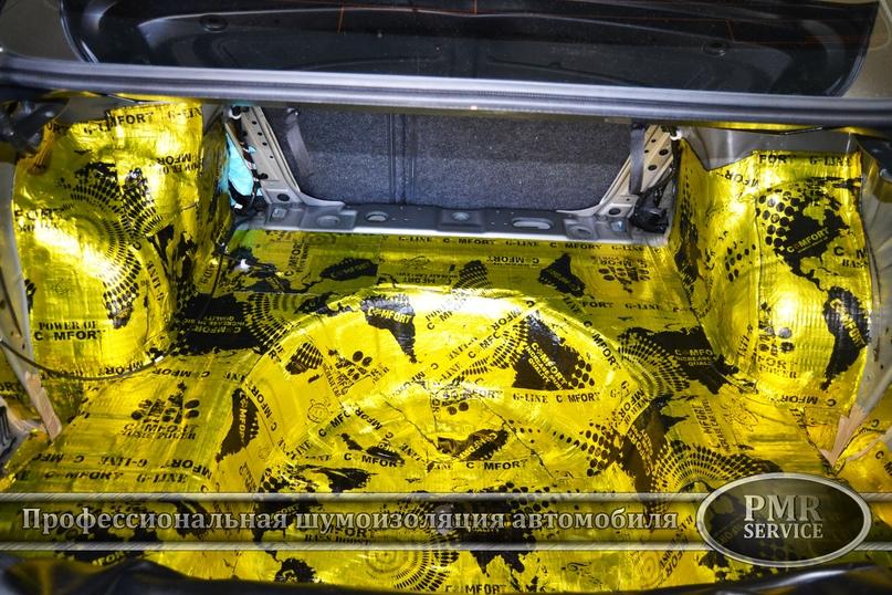 Шумоизоляция Nissan Teana, изображение №9